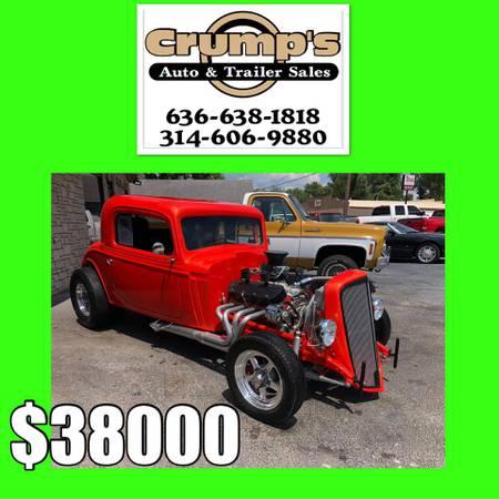 Photo 1934 Chevy 454 BIG BLOCK All Steel Body CUSTOM - $34000 (Crystal City)