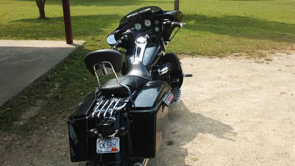 Photo 2008 streetglide, stage 4, 6800 $ r swap for a heritage - $6,800 (JACKSON MO)