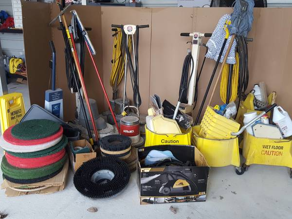 Photo Air Duct Floor cleaning equipment bundle - $3000 (CAPE GIRARDEAU)