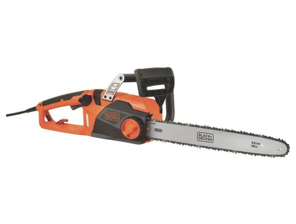 Photo BLACKDECKER Electric Chainsaw, 18-Inch, 15-Amp (CS1518) - $75 (Bartlett)