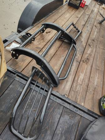 Photo Brush Guard and Lift Kit for 2004 Jeep Grand Cherokee - $300 (Rombauer)