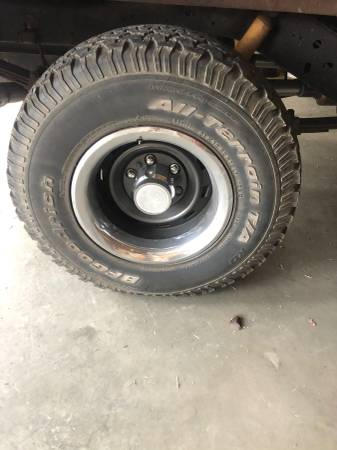 Photo Chevy Rally wheels and tires - $500 (New Madrid)