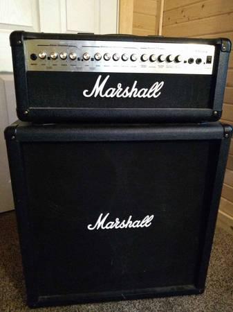 Photo Marshall MG100HDFX  MG412B half stack. - $250 (Ellsinore)