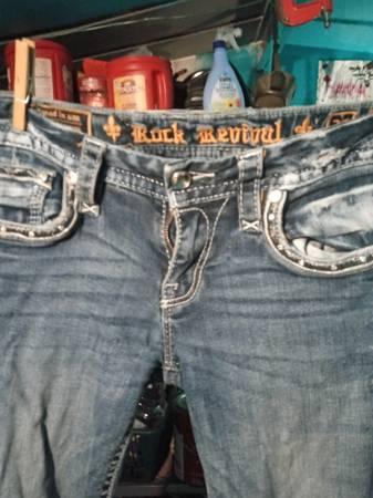 Photo Rock Revival jeans - $50 (Sikeston)