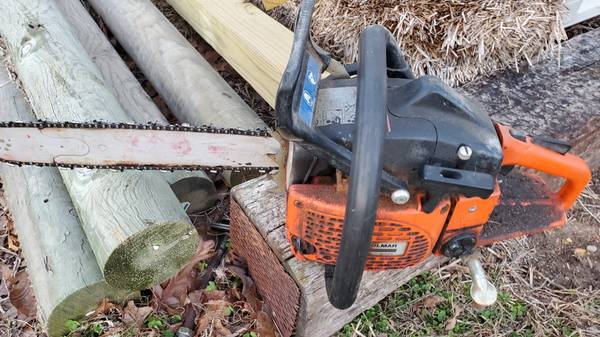 Photo Sachs dolmar 115i chainsaw 16 inch bar - $140 (Mountain Grove)