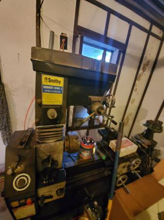 Photo Smithy Industrial Lathe Machine - $3000 (Thebes)