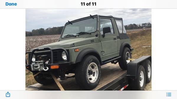 Photo Suzuki Samurai - $10000 (Silva, MO)