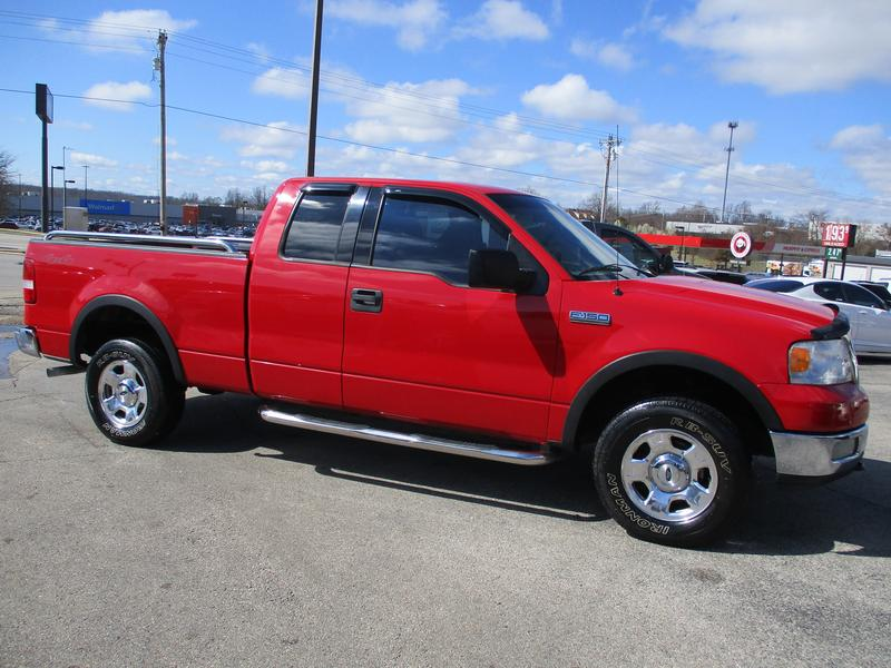 Photo Used 2004 Ford F150 4x4 SuperCab XLT w FX4 Pkg for sale