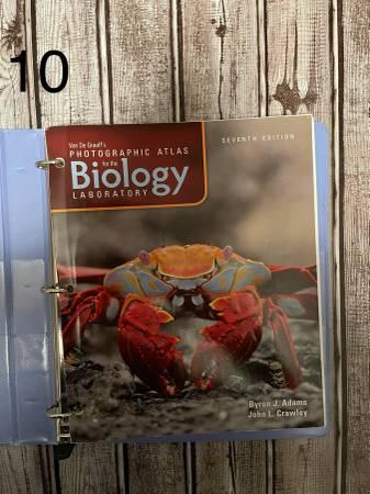 Photo Van De Graaff39s Photographic Atlas for the Biology Laboratory - $15 (Cordova)