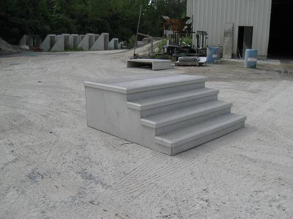 Photo looking for used precast steps (Benton Mo.)