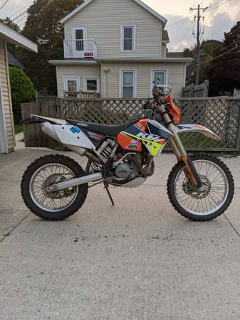 Photo 0439 KTM EXC 450 - $4,000 (Sheboygan)