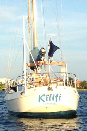 Photo 1985 32 ft Steel Blue Water Cutter-Rigged Sloop - $15000 (Grand Cayman)