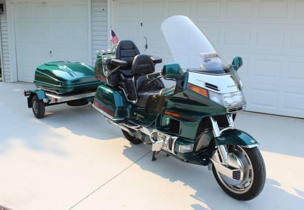 Photo 1996 Honda Goldwing with Trailer - $5,500 (Gibbsville)