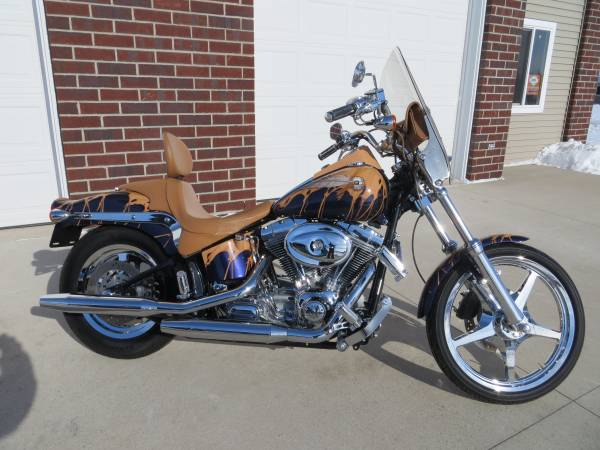 Photo 2002 Harley Davidson Softail Standard Loaded with Chrome - $5,499 (Green Bay)