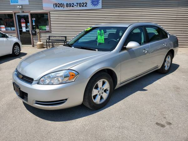 Photo 2008 Chevy Impala LT, very clean - $4900 (Plymouth)