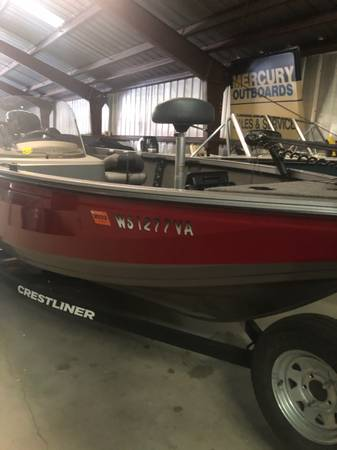 Photo 2019 CRESTLINER 1650 FISH HAWK SE MERCURY 90 - $26,899 (OSHKOSH)