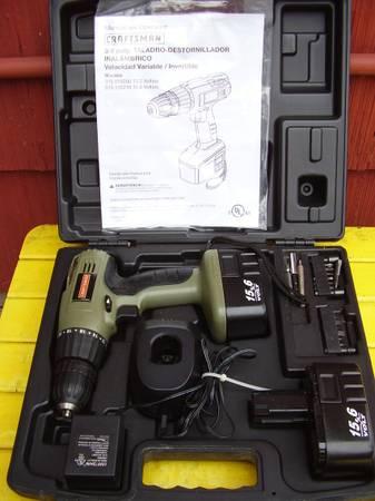 Photo Craftsman Cordless Drill Set - $30 (Sheboygan)