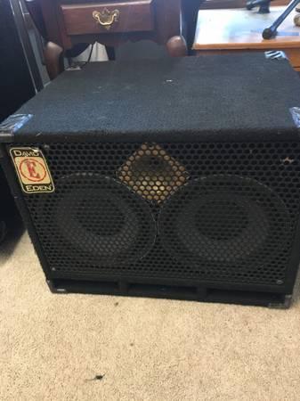 Photo David Eden 210 bass cab - $250 (Sturgeon Bay)
