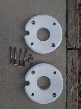 Photo Garden tractor wheel weights - $50 (Oostburg)