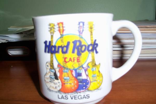 Photo Hard Rock Cafe Las Vegas coffee cup - $10 (WAUKESHA)