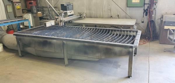 Photo Plasma Cutting Table 4ft x 10 ft - $3,500 (Kiel)