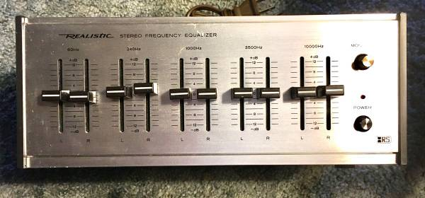 Photo Realistic stereo equalizer - $50