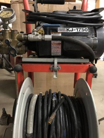 Photo Ridgid KJ-1750 Water Jetter - $1250 (St. Nazianz)