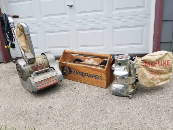 Photo Silver line floor sander and edger - $1450