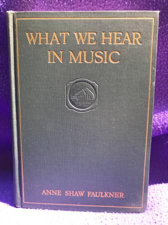 Photo What We Hear In Music - $5 (Elm Grove)