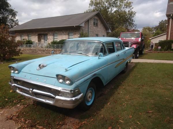 Photo 1958 Ford Custom 300 4 Door - $4,000 (Tuscumbia)