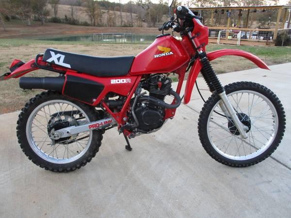 Photo 1983 Honda XL200R, Original, Incredible, Time Machine - $3,200 (Springville)