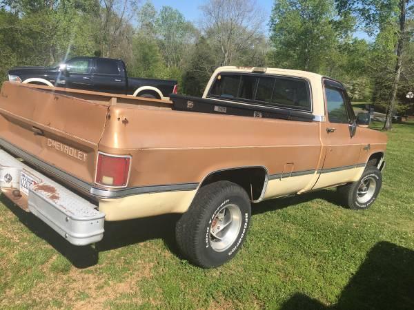 Photo 1986 Chevy K10 - $6,500 (Florence AL)