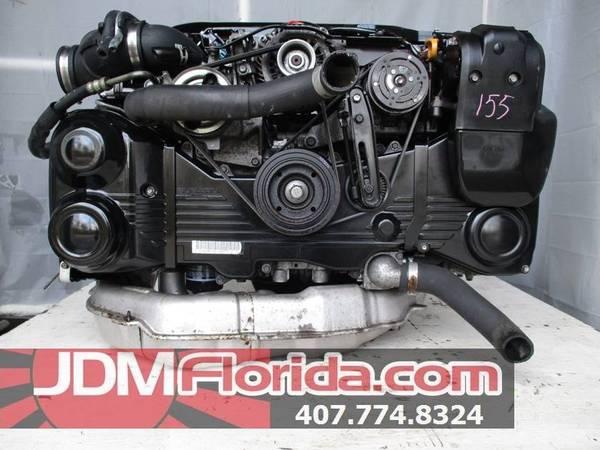 Photo 2008 - 2013 JDM SUBARU IMPREZA WRX DOHC TURBO AVCS ENGINE 2009 EJ20X - $1,300 (JDM FLORIDA)