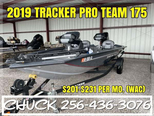 Photo 2019 TRACKER PRO TEAM 175 ALUMINUM BASS CRAPPIE FISHING BOAT - $18,999 (TUSCUMBIA)