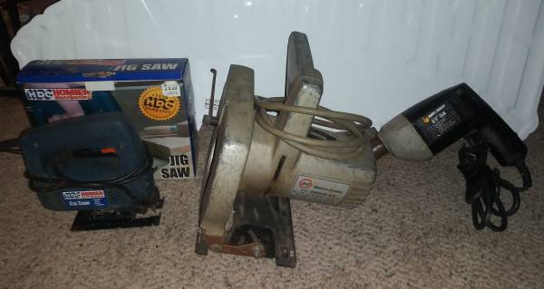 Photo 3 Electric Tools Drill Circular  Jig Saw - $24 (Lawrenceburg)