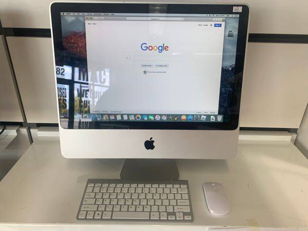 Photo Apple iMacs 20 inch , office 2016,with wireless keyboard and mouse 179 - $179 (Madison)