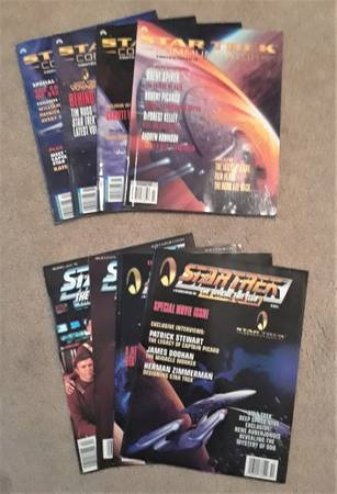 Photo STAR TREK Magazines - $20 (37027)