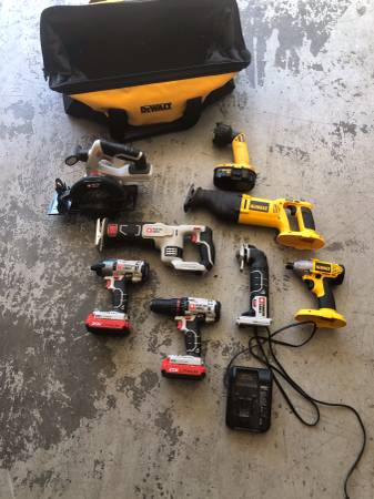 Photo Used power tools - $250 (Muscle Shoals)