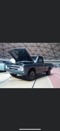Photo 1968 Chevy C10 - $20,000 (Eagar)