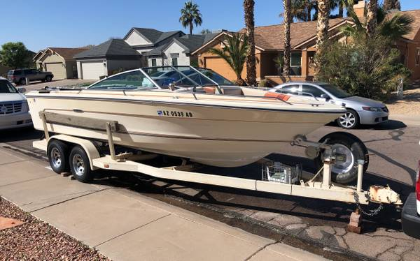 Photo 1985 SEA RAY Bow Rider Model 207 MONACO 21 Ft - $8,500 (Phoenix)