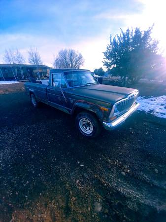 Photo 1987 jeep j10 pickup - $3500 (Showlow)
