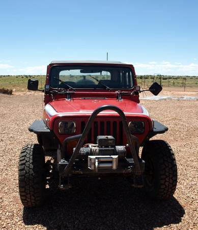 Photo 1990 Jeep Wrangler YJ 2.6 4 cylinder  Rock Crawler - $6500 (Snowflake)