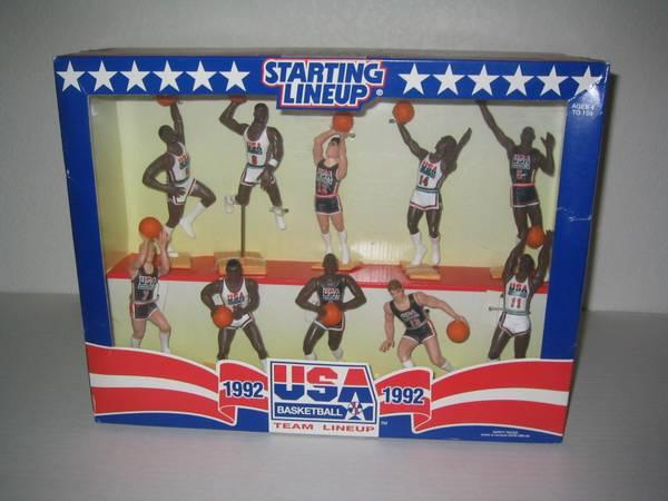 Photo 1992 Starting Lineup USA Basketball Dream Team w Michael Jordan - $60 (Show Low)