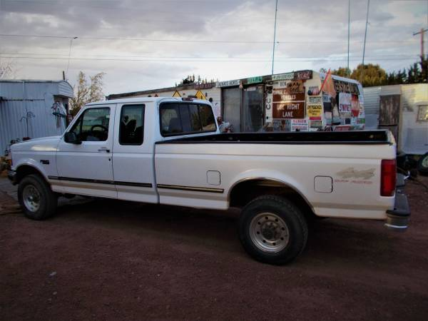 Photo 1997 Ford F250 4X4 Long Bed, Extended Cab Pickup - $8,000 (White Mtn. Lake Az.)