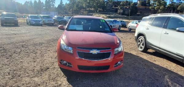 Photo 2012 CHEVY CRUZE  NICE CAR  GREAT GAS MILEAGE - $7,731 (DRIVE NOW AUTO SALES 700 S WHITE MOUNTAIN RD SHOW LOW AZ)