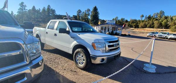 Photo 2013 FORD F150 SUPERCREW CAB XLT PICK UP  4 DOOR  4WD - $22,769 (DRIVE NOW AUTO SALES 700 S WHITE MOUNTAIN RD SHOW LOW AZ)