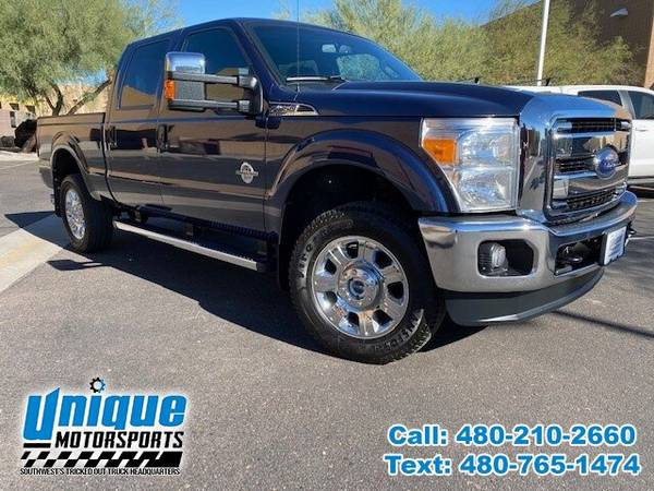 Photo 2015 FORD F-350 LARIAT CREW CAB TRUCK  6.7 DIESEL  LOADED  HOLIDA - $51,995 (DELIVERED RIGHT TO YOU NO OBLIGATION)