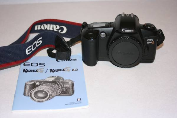 Photo 35mm Rebel Canon Film Camera Body - $10 (Show Low)