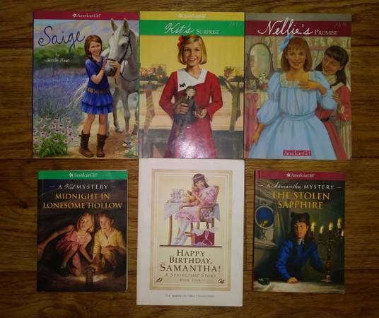 Photo 6 American Girls Chapter Books - $5 (East)