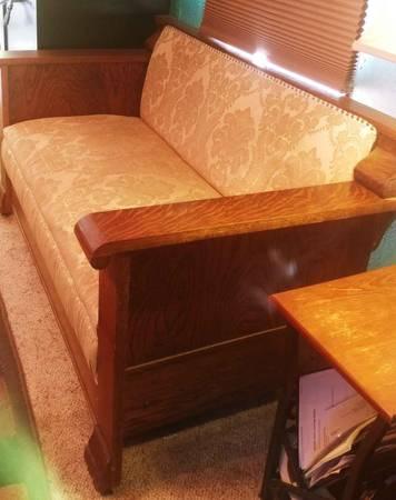 Photo Antique quot1905-1910quot era Hide-a-bed 34 couch - $200 (White Mountain Lakes Show Low AZ)